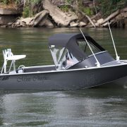 The FC 465 Forward Steer is an alloy boat designed to be safe, stable and give shelter from the elements and a great alternative to a fibreglass boat. This is a great family boat designed as a Quality Aluminium boat that you can enjoy great times out on the water fishing and driving around New Zealand.
