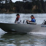 The FC 390ss (Side Steer) is an alloy tinny boat designed to be safe, stable and an economical craft that has a great profile and is a great alternative to a fibreglass boat. This Aluminium boat is easily handled by a single person, as well as being versatile and safe enough to accommodate up to four people as a great alloy fishing boat