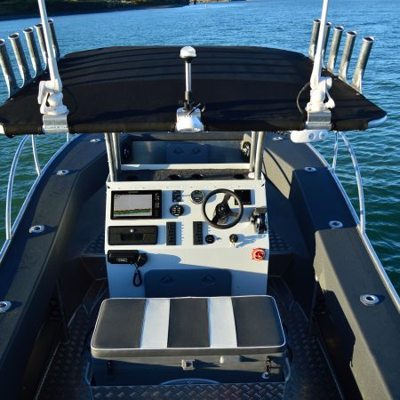 FC 635H Centre Console, This great profile boat is designed for a smooth ride, stability, dryness and to simply have more fishability.