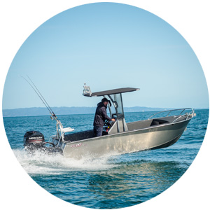 FC 535cc Centre Console, This great profile boat is designed for a smooth ride, stability, dryness and to simply have more fishability.