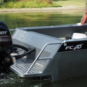 The FC 635H (Hard Top) Boat is fantastic for offshore fishing and diving trips. With its exceptional stability, power and protection from the elements, you'll be able to spend the entire day on the ocean exploring new grounds comfortably and safely in this quality aluminium boat.