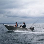 The FC 390ss (Side Steer) is an alloy tinny boat designed to be safe, stable and an economical craft that has a great profile and is a great alternative to a fibreglass boat. This Aluminium fishing boat is easily handled by a single person, as well as being versatile and safe enough to accommodate up to four people as a great alloy fishing boat.